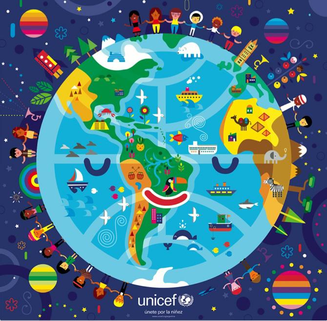Unicef Puzzle Colorblok Inc