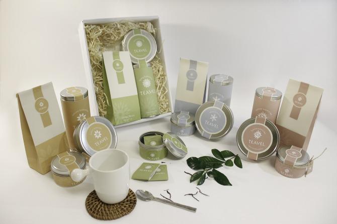 Teavel Tea Package Design Evleen Huang