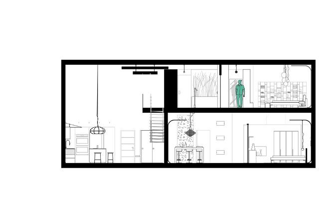 Ocean lofts anna sokol interior design toronto on for Interior elevation designs