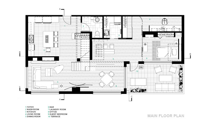 interior design floor plan sketches by markozekadeviantartcom on - Interior Design Drawings